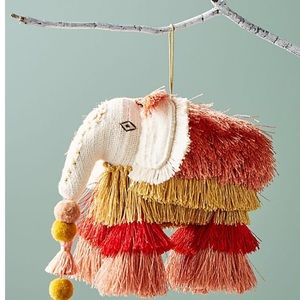 Anthropologie majestic tassels ornament new